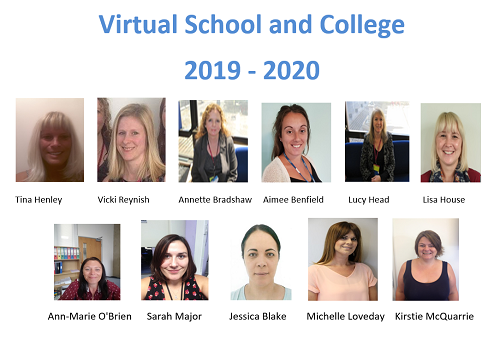 Virtual School and College team