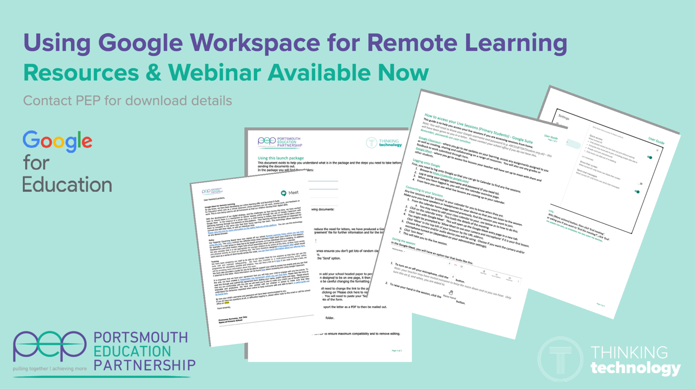 Using Google Workspace for Remote Learning