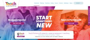 Teach Portsmouth website
